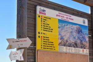 partii de schi din sinaia